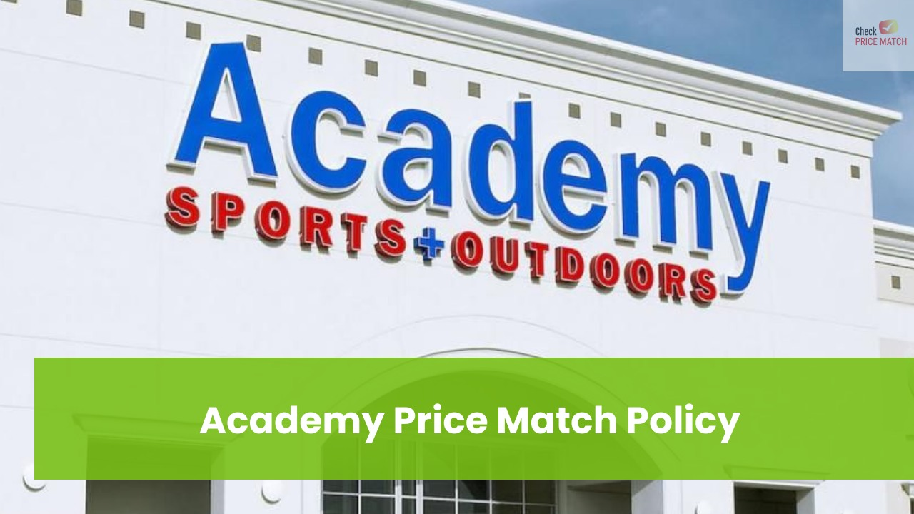 Academy Price Match Policy