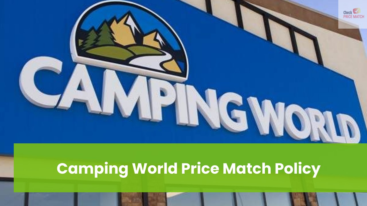 Camping World Price Match Policy