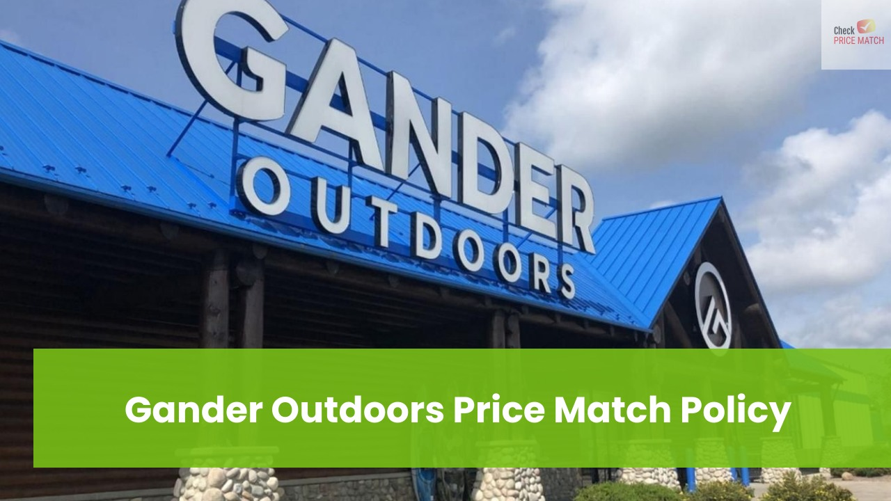 Gander Outdoors Price Match Policy