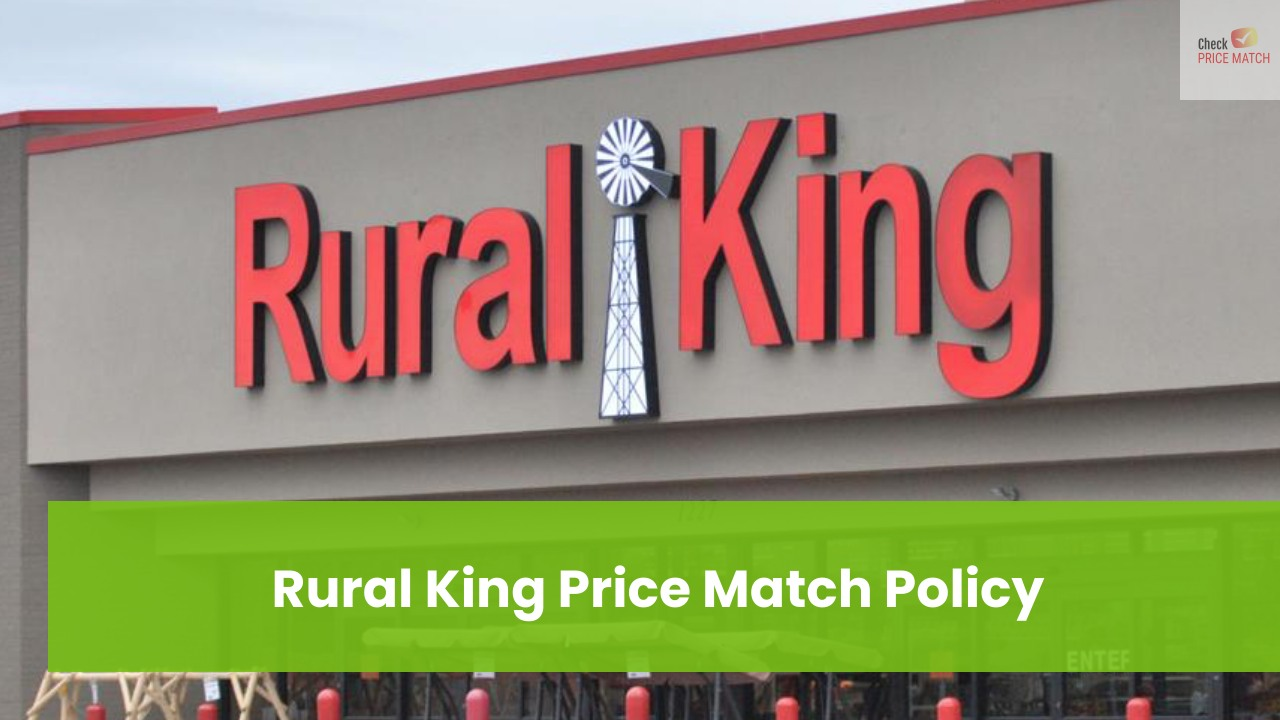 Rural King Price Match Policy