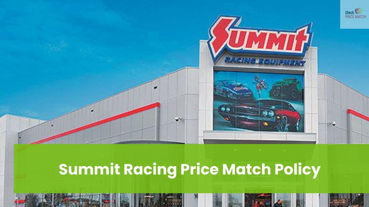 Summit Racing Price Match Policy